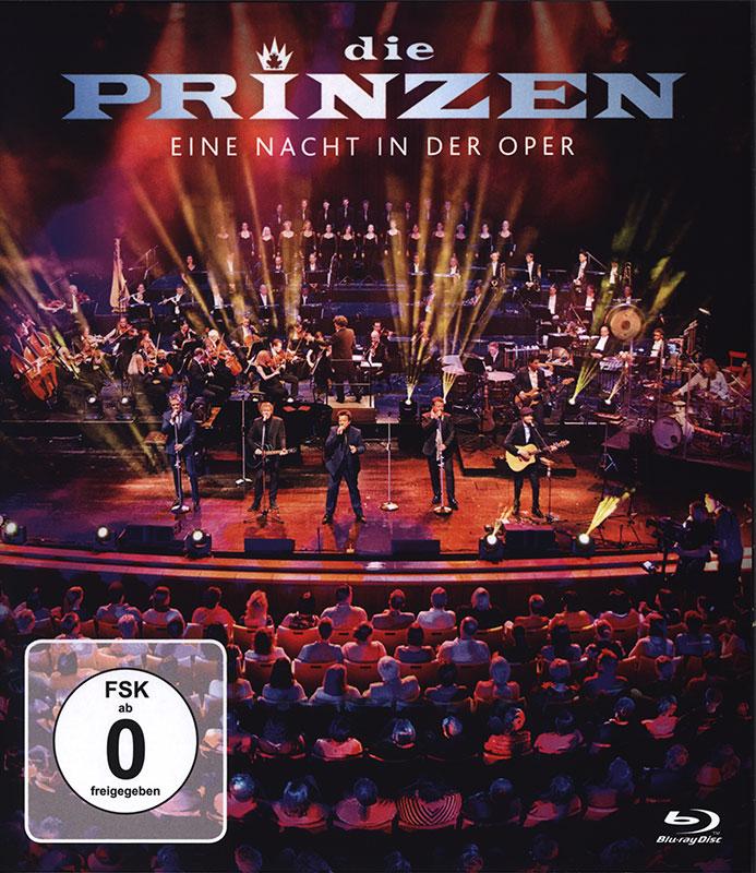 Cover: Eine Nacht in der Oper Blu-ray Disc