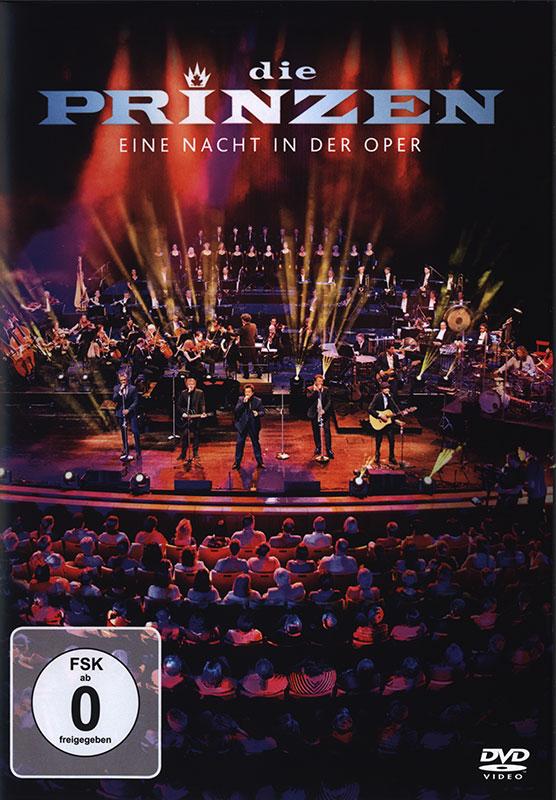 Cover: Eine Nacht in der Oper DVD