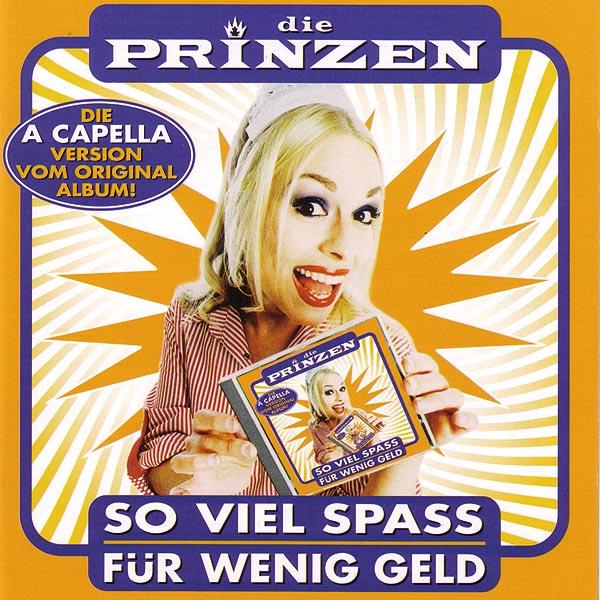 Cover: So viel Spass für wenig Geld A-Capella